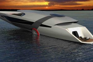 SuperYacht Tesla Model