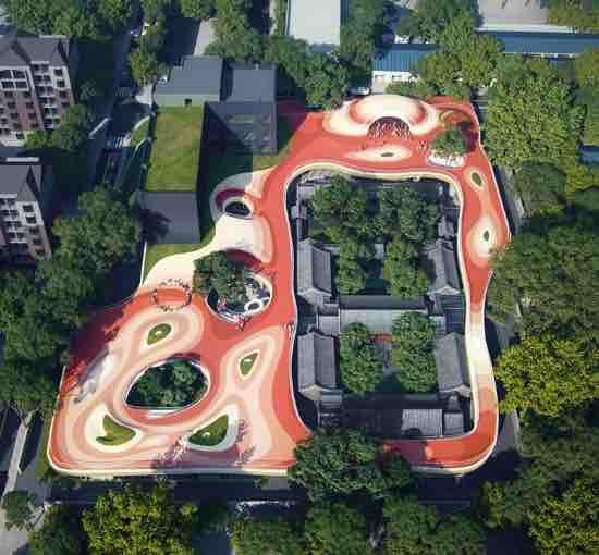 China Courtyard Kindergarten