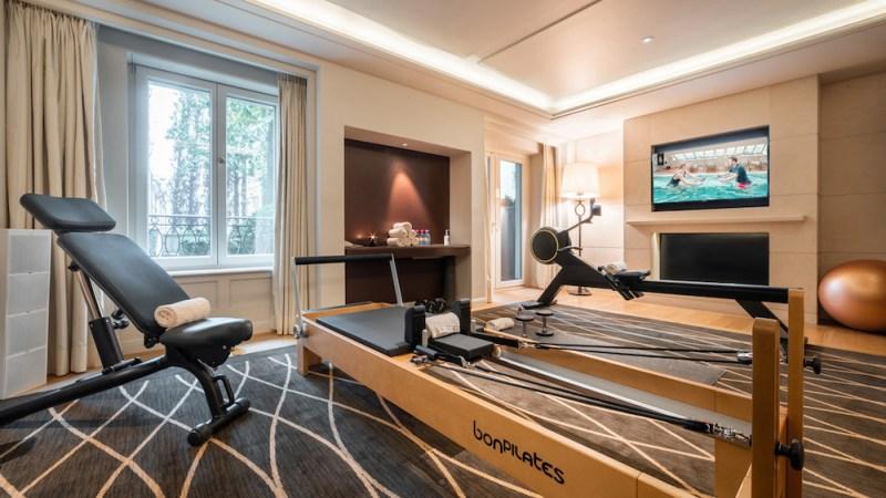 Bergues Geneva, Four Seasons Hotel apre due palestre fitness/yoga private