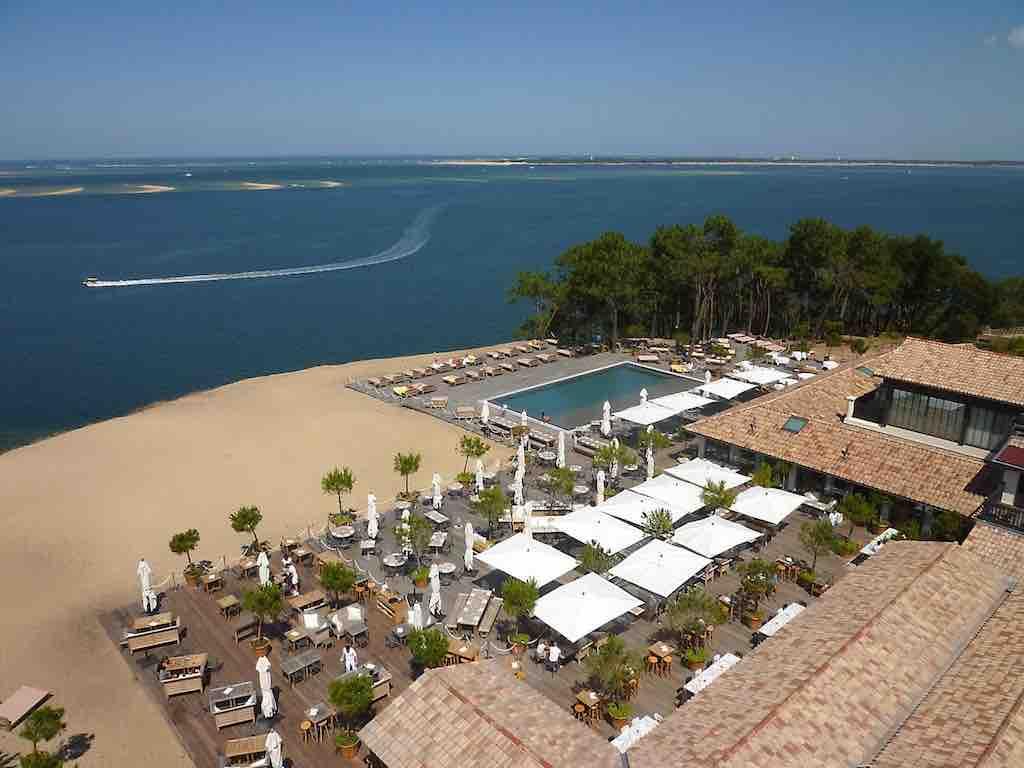 Co (O) rniche, affascinante hotel a Pyla-sur-Mer